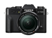 X t20 black front xf18 55mm