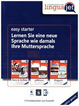 Linguajet Starterpaket, CD-ROM