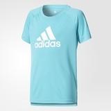 Mädchen Sport T-Shirt Adidas YG TR Logo Tee