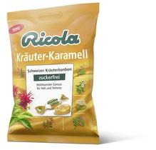 Ricola Kräuter-Karamell ohne Zucker 75mg