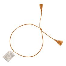 Armband Ace Thread Bracelet, silber