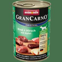 Gran Carno Rind, Hirsch mit Äpfeln