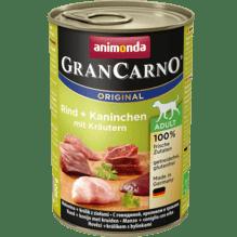Gran Carno Rind, Kaninchen ,Kräuter