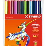 Farbstift Trio Etui 12St