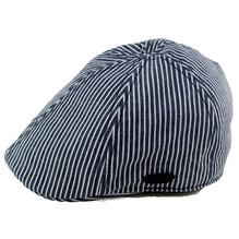 Stetson Sommermütze Texas Hickory Stripe Denim Cap blau weiß
