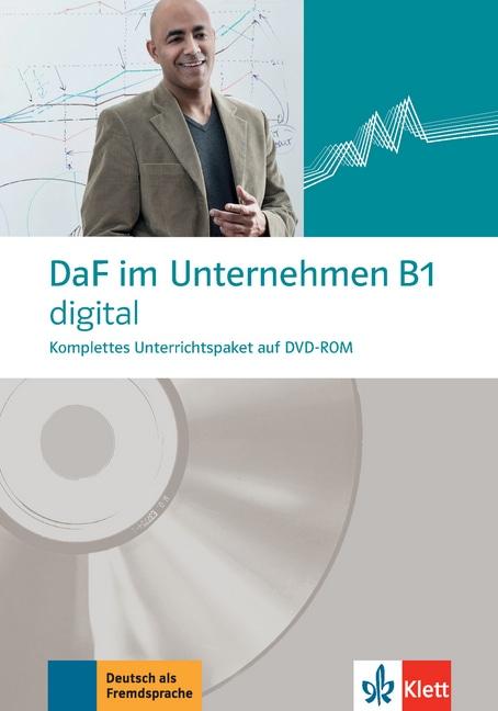 DaF im Unternehmen B1 digital, 1 DVD-ROM