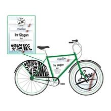 Werbefahrrad (Fahrradbeschriftung)