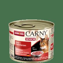 Carny Senior Rind und Putenherzen