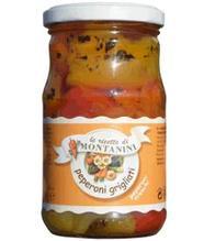 MONTANINI Peperoni Grigliati pelati - gegrillte und geschälte Pa
