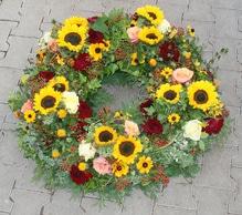 Trauerkranz 'Letzter Gruß', verschiedene Größen, aus Eber`s Floristenwerkstatt