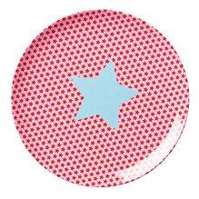 Flacher Teller Star