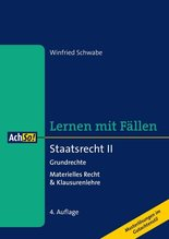 Staatsrecht. Tl.2 | Schwabe, Winfried