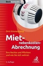 Mietnebenkosten-Abrechnung   Kimmeskamp, Dirk