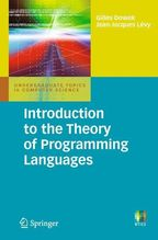 Introduction to the Theory of Programming Languages | Dowek, Gilles; Lévy, Jean-Jacques