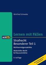 Strafrecht Besonderer Teil. Tl.1 | Schwabe, Winfried