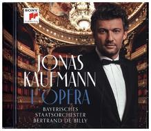 Jonas Kaufmann - L'Opéra, 1 Audio-CD