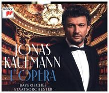 Jonas Kaufmann - L'Opéra, 1 Audio-CD (Deluxe Edition mit umfangreichem Booklet)
