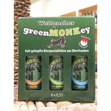 green MONKey | craft beer | kaltgehopft | oberfranken | 6x0,5l