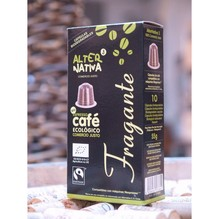 kaffee arabica fragante,, kapsel, capsule,  bio & fair , alternativa 3,  10 x 5,5g ,
