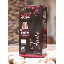 kaffee forte,, kapsel, capsule,  bio & fair , alternativa 3,  10 x 5,5g ,