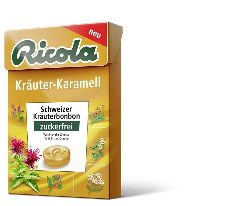 Ricola Kräuter-Karamell 50g zuckerfrei Böxli