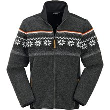 CMP Man Jacket Wooltech Farbe carbone melange 3J35677
