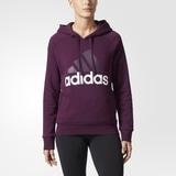 Adidas Damen Hoddie Essentials Linear  red night  BR2451