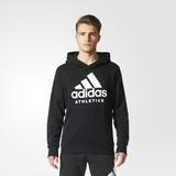 Adidas Herren Hoodie Sport ID schwarz BR4747