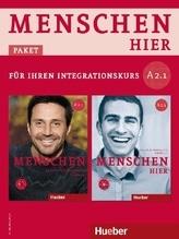 Kursbuch mit DVD-ROM und Arbeitsbuch mit Audio-CD, 2 Bde.