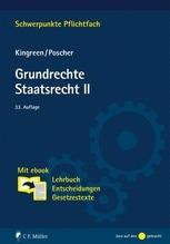 Grundrechte. Staatsrecht II   Kingreen, Thorsten; Poscher, Ralf