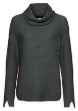 Pullover *Perlfang, Rollkragen 1/1, Royalblau