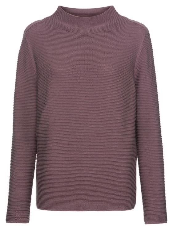 Pullover *links-links, Stehkragen 1/1