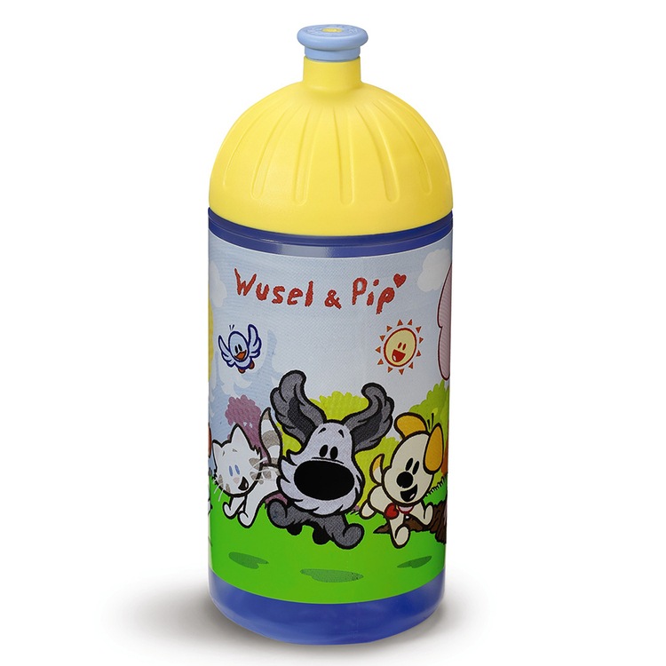 "Nici Trinkflasche ""Wusel & Pip"" 0,5l"