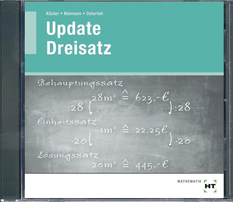 Lehrer-CD Update Dreisatz | Köster, Detlev; Niemann, Gabriele; Osterloh, Rolf