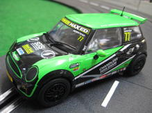 Scal3743 Scalextric Mini Cooper New Challenge
