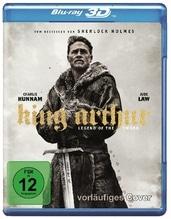 King Arthur: Legend of the Sword 3D, 1 Blu-ray