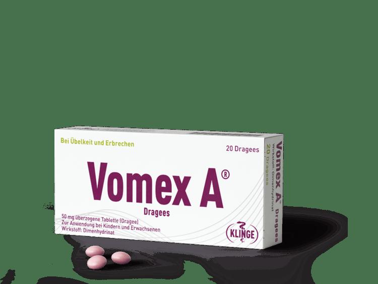 Vomex A Dragees 20 Stück