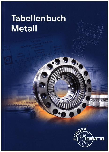 Tabellenbuch Metall, ohne Formelsammlung