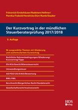 Der Kurzvortrag in der mündlichen Steuerberaterprüfung 2017/2018