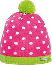 Eisglut Kinder Mütze Lotti Farbe pink/limegrün  15171k
