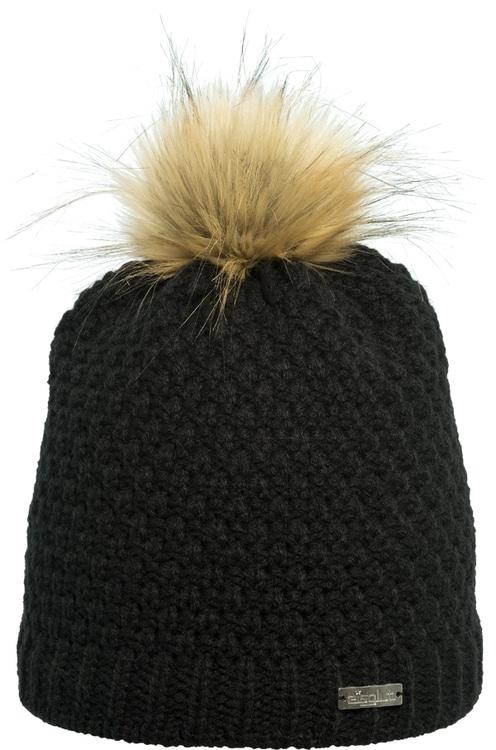 Eisglut Damen Mütze Lisa schwarz
