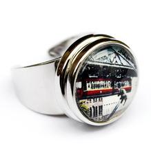 Finger Ring 'Tuffisprung', größenverstellbar
