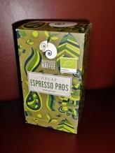 Regenwald-Kaffee ESE Espresso Coffee Pads Fairtrade entkoffeiniert