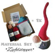 Material-Set / Häkeln - *Zipfelstopper* (Basic)