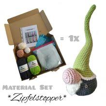 Material-Set / Häkeln - *Zipfelstopper* (Premium)