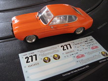 IS50307 SRC Ford Capri RS Montecarlo 1973 No. 277 Chrono Series Limited Edition Jägermeister