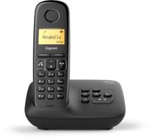 A270 A Schnurlostelefon mit Anrufbeantworter schwarz
