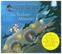 Drachenreiter - Die Vulkan-Mission, 2 Audio-CDs | Funke, Cornelia