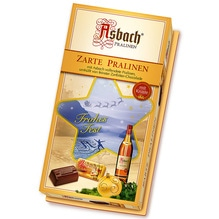 Asbach Uralt 'Zarte Pralinen' weihnachtlich flüssig gefüllt mit Zuckerkruste, 125g
