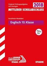 Mittlerer Schulabschluss 2018 - Nordrhein-Westfalen - Englisch, mit MP3-CD